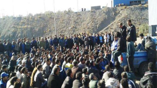 اعتصاب-کارگران-معدن-بافق